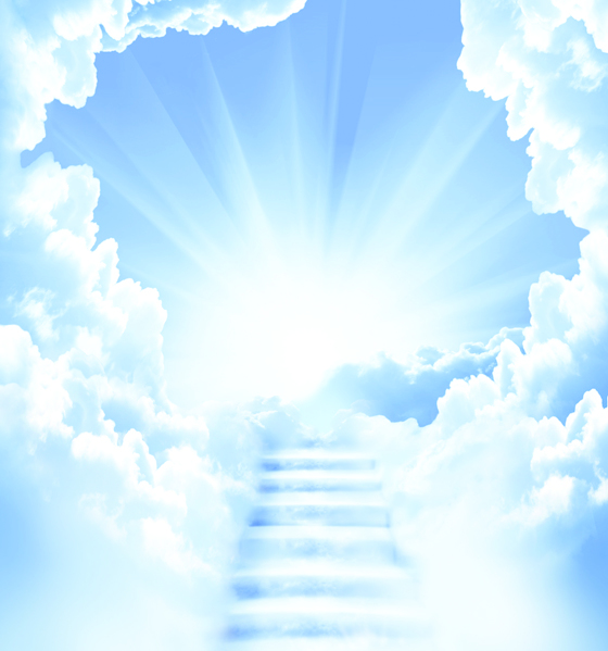 Opened Skies, Opened Hearts: Angels bring heaven to earth . . .and earth to heaven.