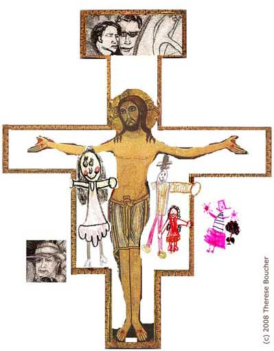 Embracing the Cross with Little Ones: Ideas for Lenten Family Activities by Therese Boucher