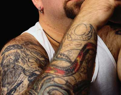 A Tattooed Blessing: He did his time, but he still wasn't free. by Laura Williams