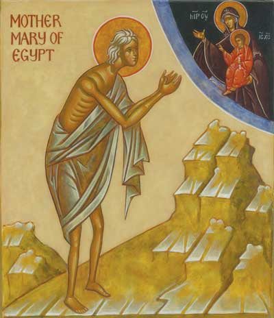 Not Your Typical Sinner-Turned-Saint: Mary of Egypt's Strange but Revealing Path to Holiness by Kevin Perrotta