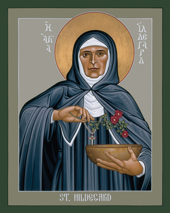 Medieval Woman, Modern Saint: St. Hildegard of Bingen by Woodeene Koenig-Bricker
