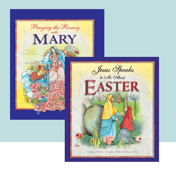 Welcoming Children into the Story: Two new books help bring the Bible alive. by Hallie Riedel