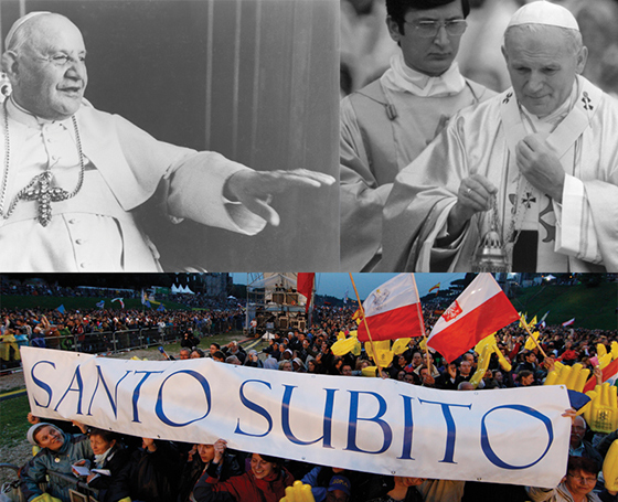 Saints of the People: The magnetic holiness of John XXIII and John Paul II.