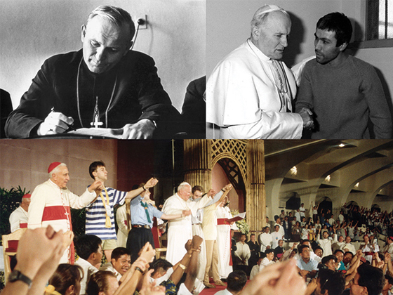 Be Not Afraid: Pope John Paul II's witness to human dignity. by Fr. Dave Heney