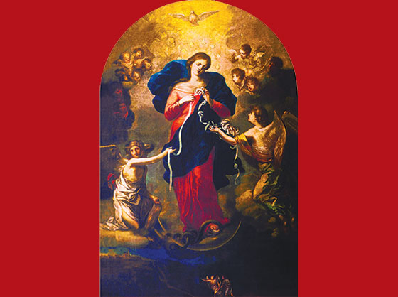 Our Lady Undoer of Knots: The Story behind One of Pope Francis' Favorite Devotions by Woodeene Koenig-Bricker