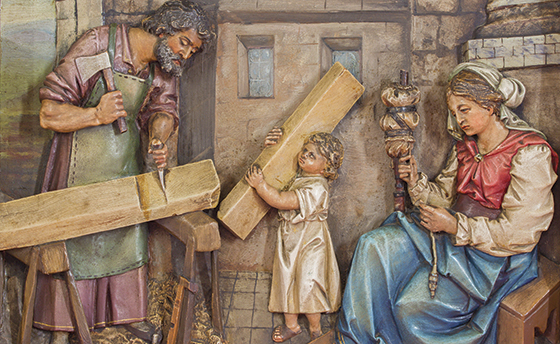 The Right Man for the Job: Building a holy family with Joseph.