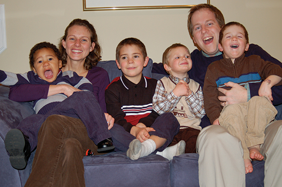 The Gift of Chaos: God is using my four sons to heal my heart. by Ryan O'Hara