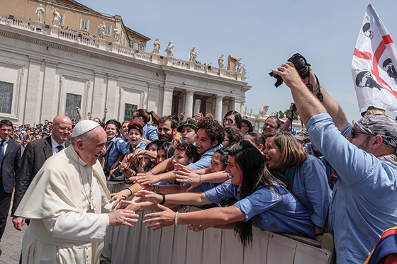 Let Us Love One Another: Pope Francis' message to young people.