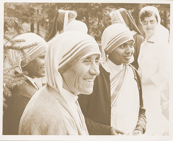 """Risk Your Heart"": My friendship with Mother Teresa. by Bishop William Curlin"