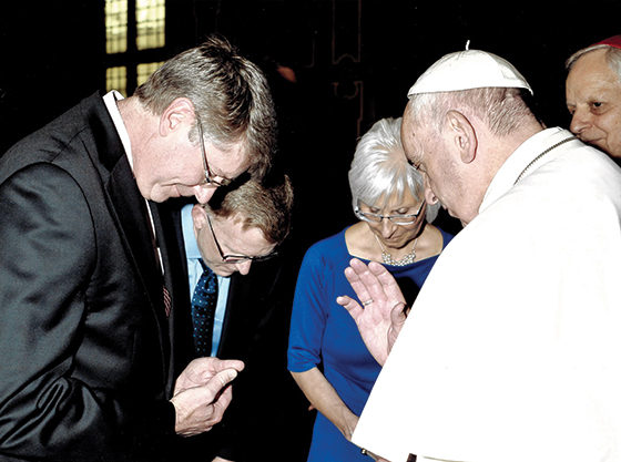 A Blessing from Pope Francis: A Letter from the Publisher by Jeff Smith