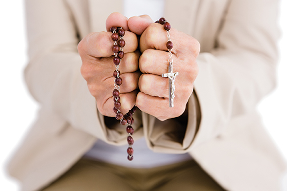 Grandma's Rosary: My wife and I are separated, but I am not alone. by Stevie Leone*