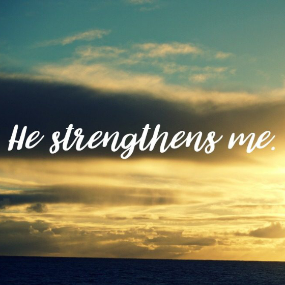 In Christ, I Can Do All Things: Jesus is with us, helping us do what we could never accomplish on our own strength.