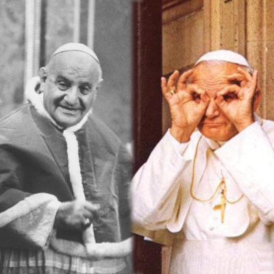 two saints who smiled issue article the word among us