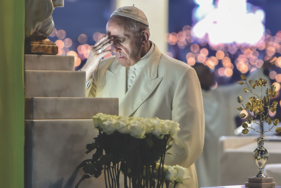 100 Years, Praying for Peace: Pope Francis' Fatima prayer.