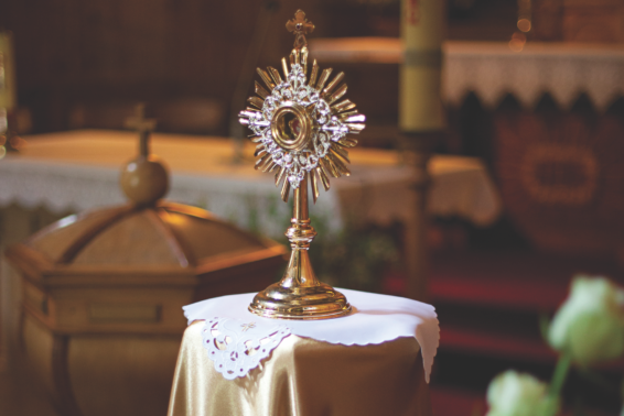 The Best Hour: Adoration became my refuge during a major test of faith. by Lori Mayer