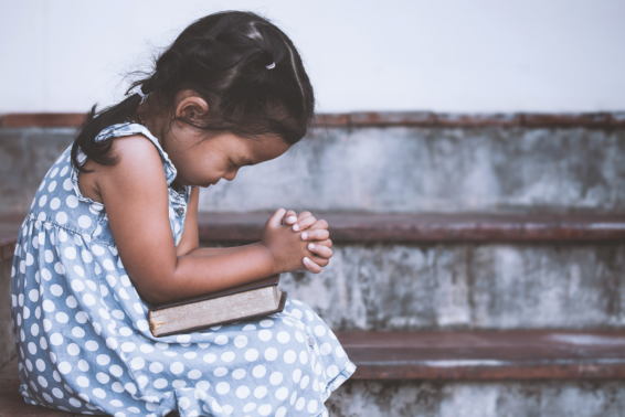 A Simple Method for Prayer: Four steps to help you focus. by The Word Among Us