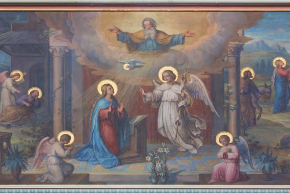 Praying with Mary and the Angel: One way you can deepen your faith during Advent. by The Word Among Us