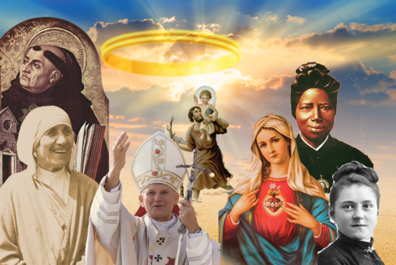 For All the Saints: You are probably holier than you think.