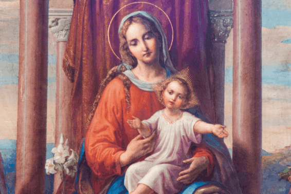 She's at the Top of My List: Mary has always held a special place in my heart.