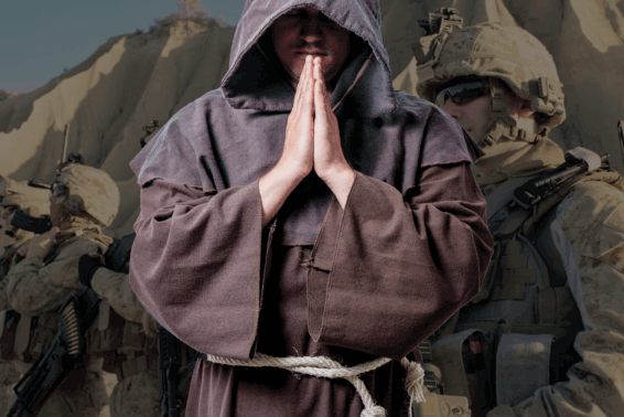 A New Kind Of Mission: St. Francis of Assisi helped me rediscover my purpose after the Iraq war. by Fr. Conrad Targonski, OFM