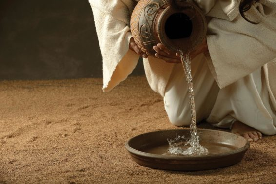 Unless I Wash You . . .: Jesus came, not to be served, but to serve.