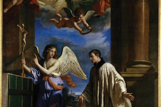 Choosing God's Way: St. Aloysius Gonzaga's courageous pursuit of holiness. by Hallie Riedel