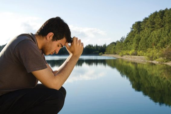 In Silence, God Speaks: How quiet prayer fills my heart with blessing. by Jim Cahill