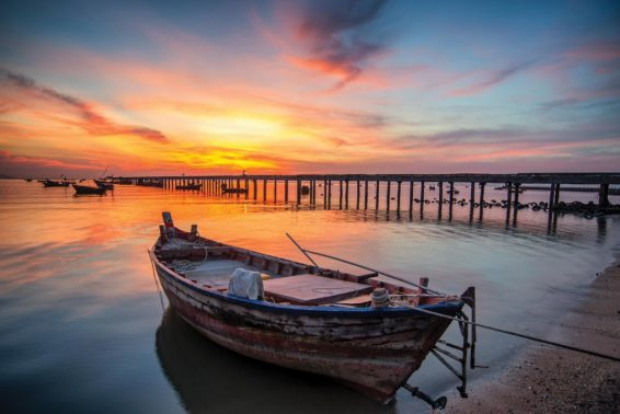 In the Boat with Jesus: The grace of Jesus' presence.