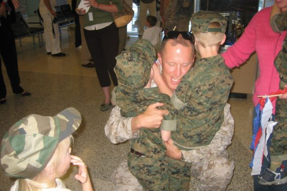 Letting God Lead: How Jesus Is Giving This Military Mom Peace by Tracy Woelkers