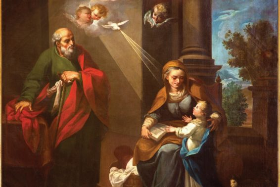 Sts. Joachim and Anna: Holy, Strategic Grandparents: They Can Teach Us How to Help Our Grandchildren Grow in Faith by Michael Shaughnessy