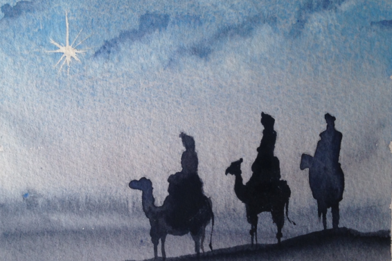 "The Adoration of the Magi: Finding Christ indeed leads to living ""another way,"" the new way of God's kingdom. by Jeanne Kun"