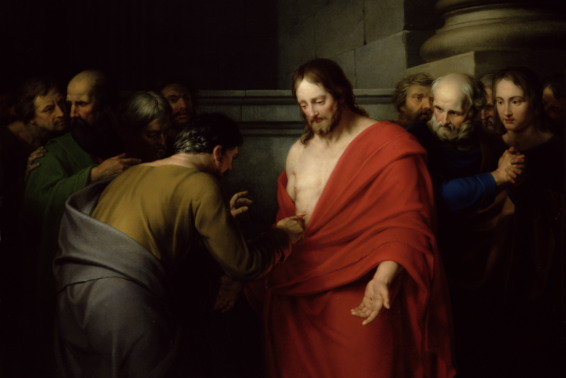 "St. Thomas, Apostle: ""My Lord and my God!"" (John 20:28) by Patty Mitchell"