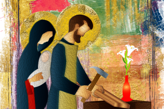 Stress and the Holy Family: Follow the example of the Holy Family in supporting one another, building each other up, and praying for wisdom and the grace to obey God.