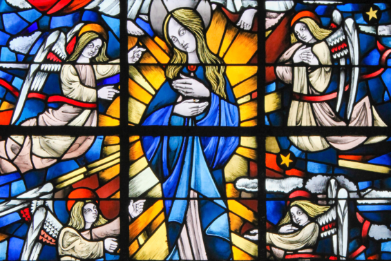 The Immaculate Conception of Mary: O Mary, conceived without sin, pray for us!