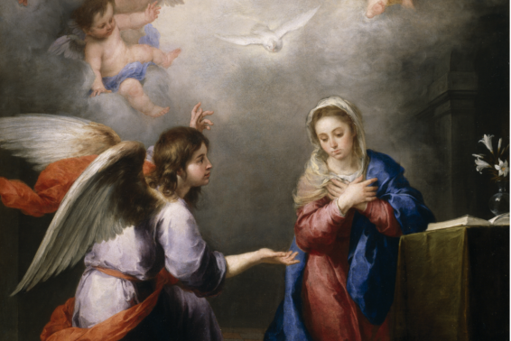 Mary and the Holy Spirit: Mary was the first and the ideal responder to God's plan of salvation. by Fr. George Montague, SM