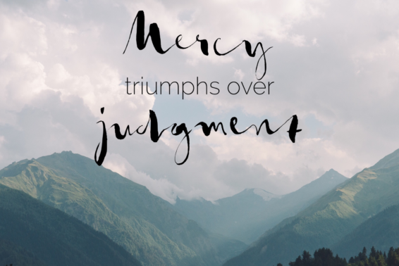Mercy and Forgiveness