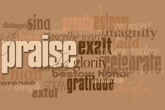 Praise and Worship: Jesus took our sins upon himself, purchased our forgiveness, and gave us the grace to live a great life here and now. How can we not praise him; how can we praise him too much?