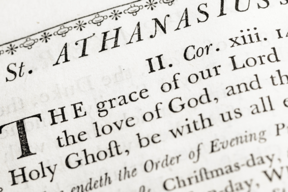 St. Athanasius: Champion of the Incarnation: St. Athanasius defended the gospel against dissent and heresy, and expounded the love of Christ who saved us, not because anything we've done, but because of his mercy.