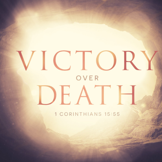 Jesus' Victory over Death: We can worship and adore our Creator—all because Jesus has conquered death and risen to new life!