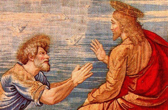 From Fisherman to Friend of God: The Dramatic Life Journey of St. Peter by Louise Perrotta