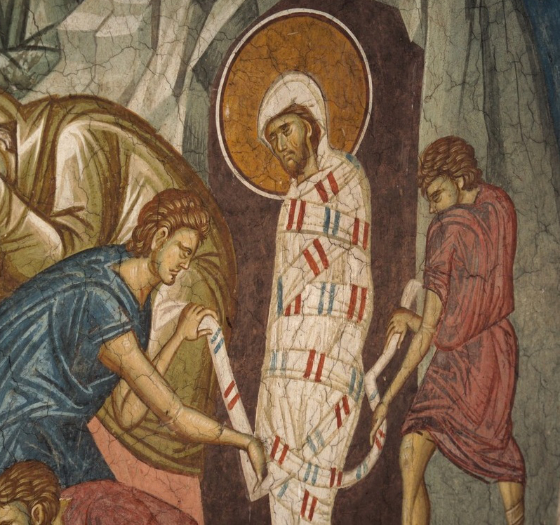 Awakened from Death: Pope Benedict Reflects on the Raising of Lazarus