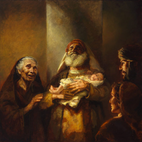 Present Yourself to God: Mary and Joseph, Simeon and Anna show the way.