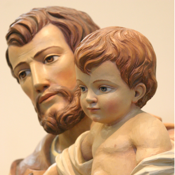 St. Joseph Gives Us a Glimpse of God the Father's Heart: The love of God the Father is embodied in Christ's earthly Abba, St. Joseph! by Mark Hart