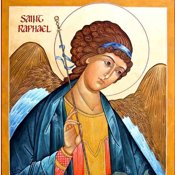 St. Raphael, a Heavenly Companion: St. Raphael shows us how to accompany people in their faith journeys by Kevin Perrotta