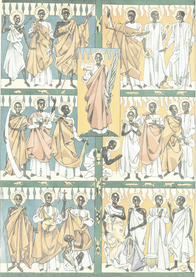 The Uganda Martyrs: Their Countercultural Witness Still Speaks Today by Bob French