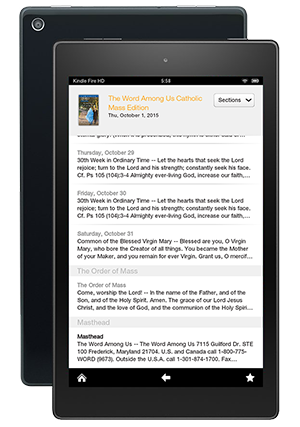 The Word Among Us Kindle Edition - Articles Search
