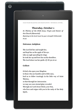 The Word Among Us Kindle Edition - Mass Readings