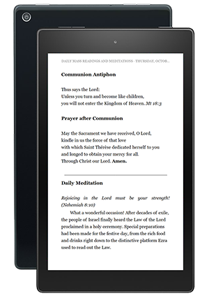The Word Among Us Kindle Edition - Order of Mass