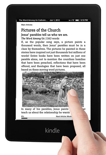 The Word Among Us Kindle Edition - Articles