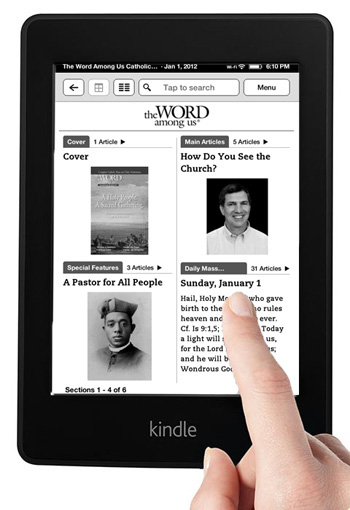 The Word Among Us Kindle Edition - Navigation